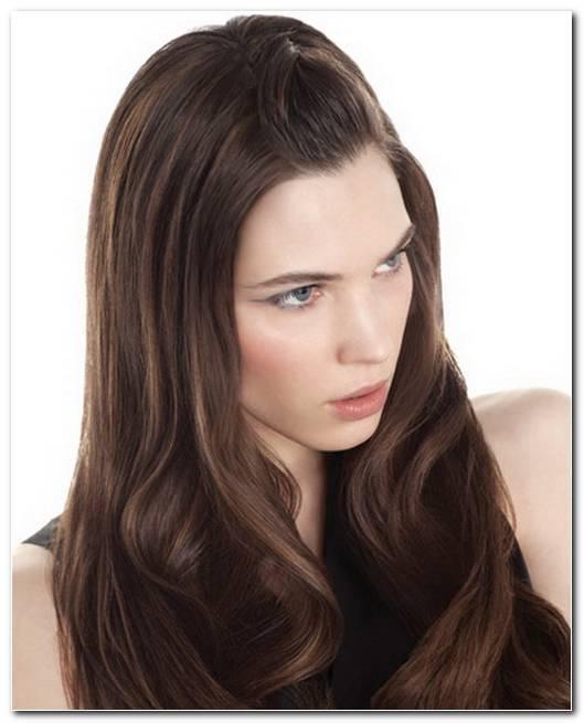 Alltags Frisuren Sehr Lange Haare
