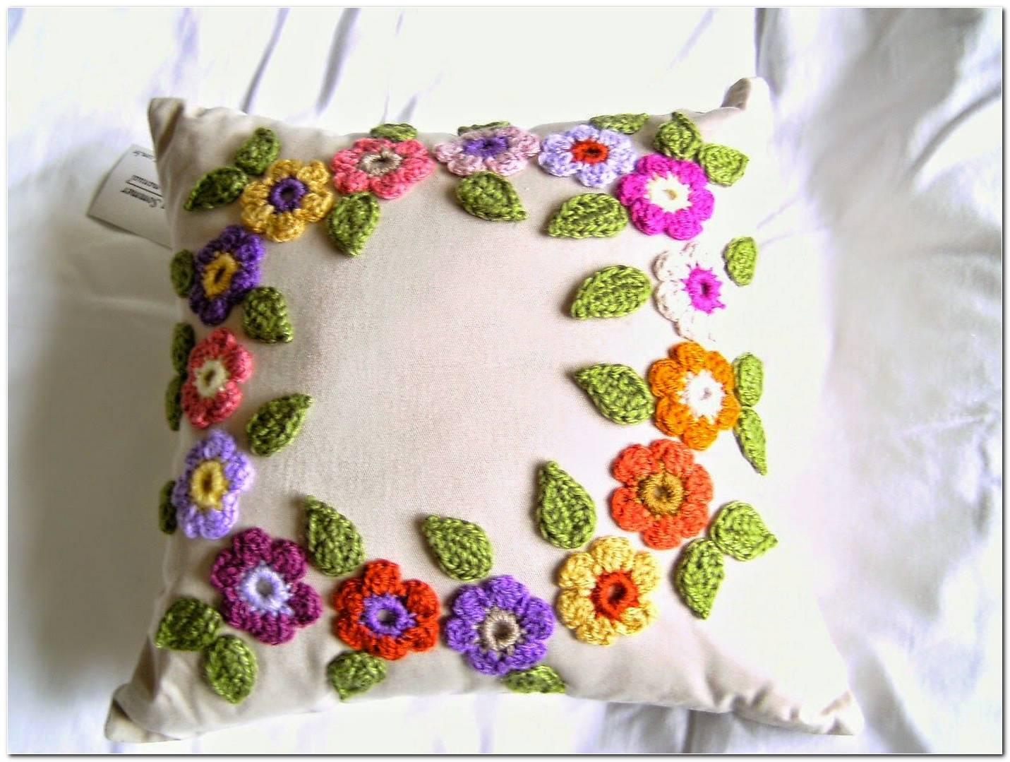 Almofadas De Crochê 72 Modelos Gráficos E Receitas