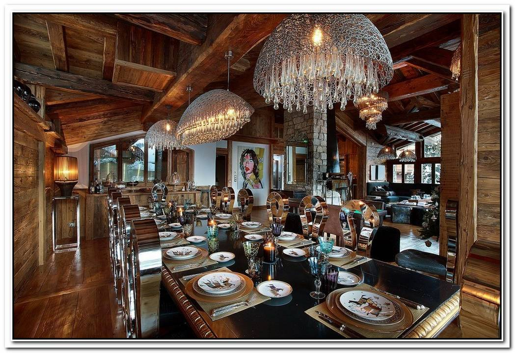 Alpine World Of Unparalleled LuxuryStunning Chalet Marco Polo In Val D'IsèRe