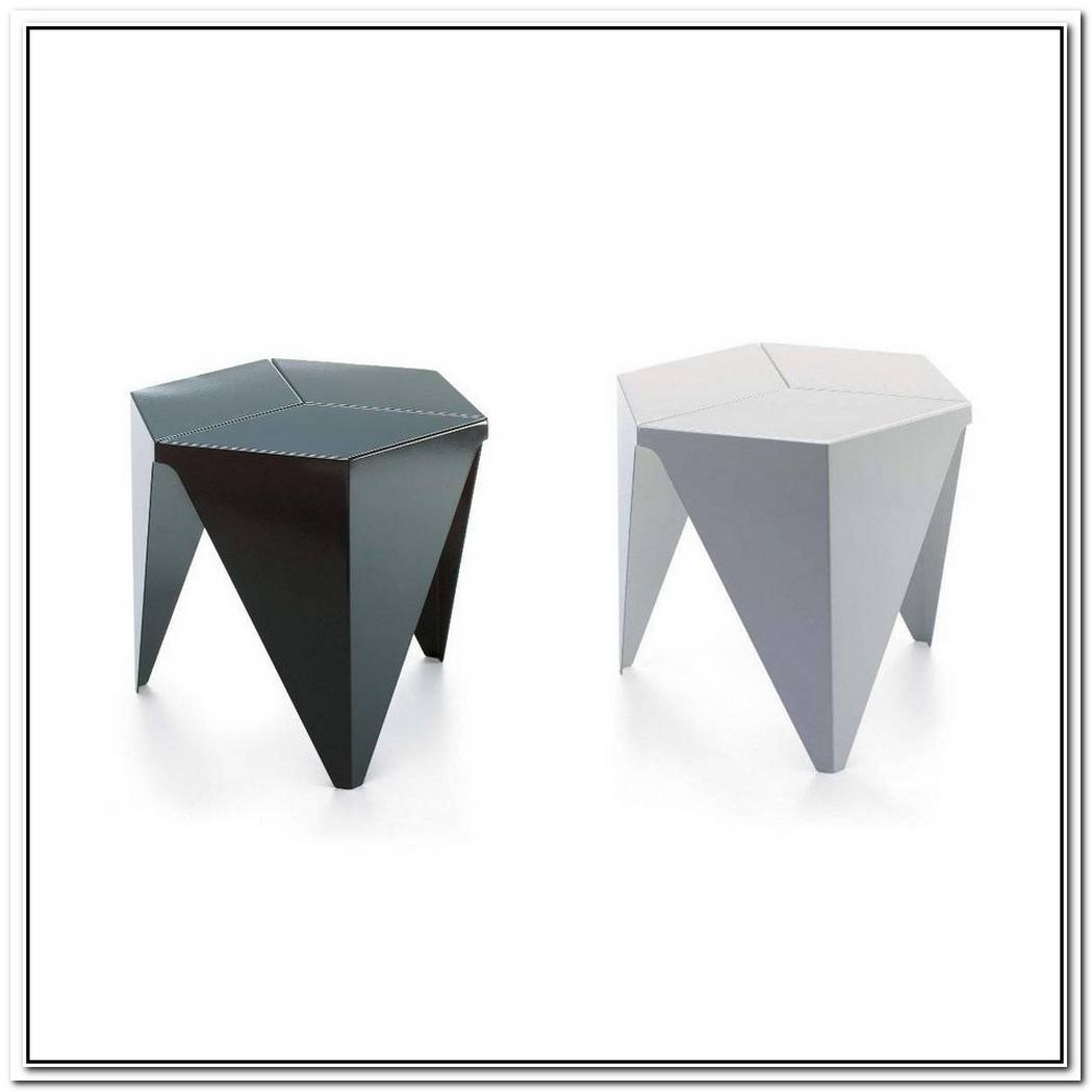 Aluminum Hexagon Side Table