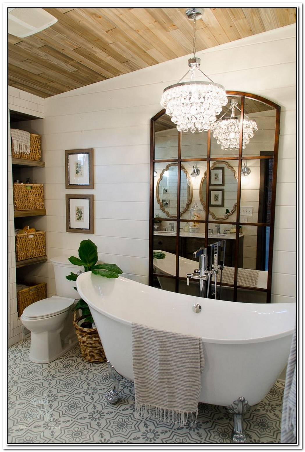Amazing Bathroom Farmhouse Urban Farmhouse