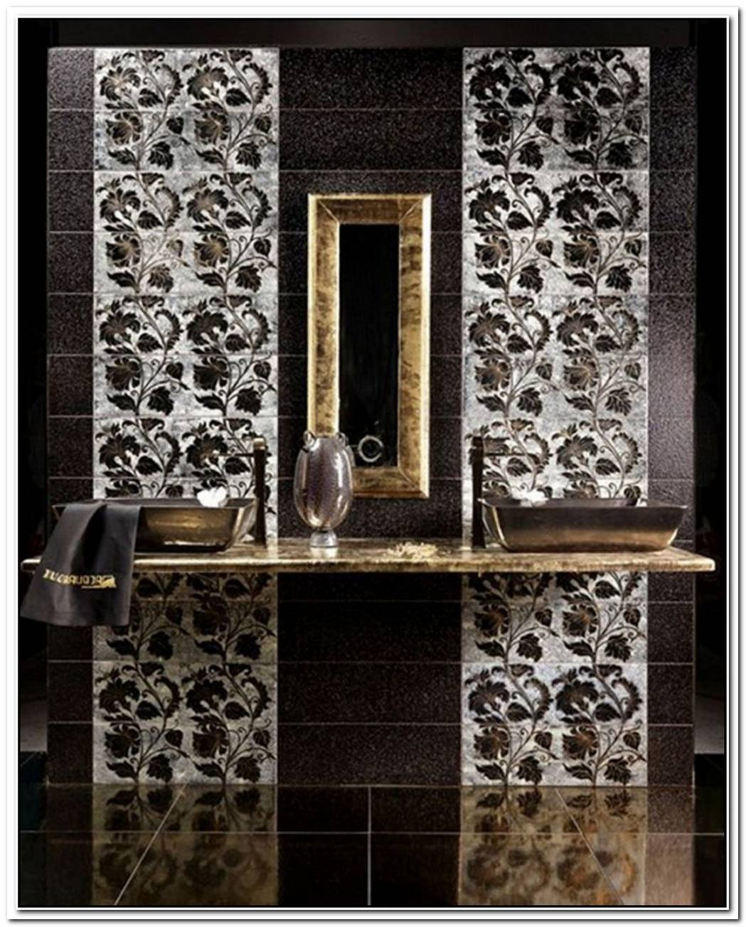 Amazing Mosaic Bathroom Tiles By Glassdecor