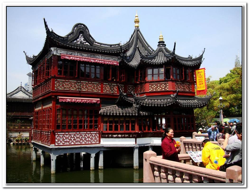 Amazing Tea House In Shanghai