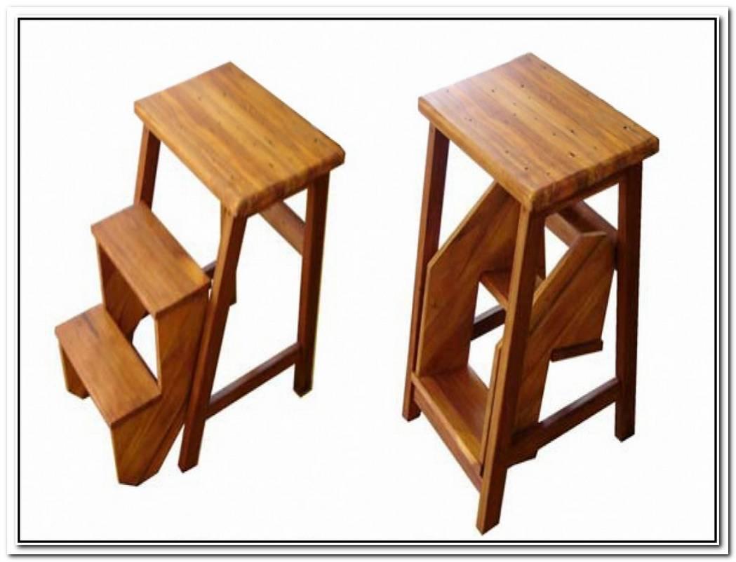 Ameda Solid Wood Stool By Benno Vinatzer