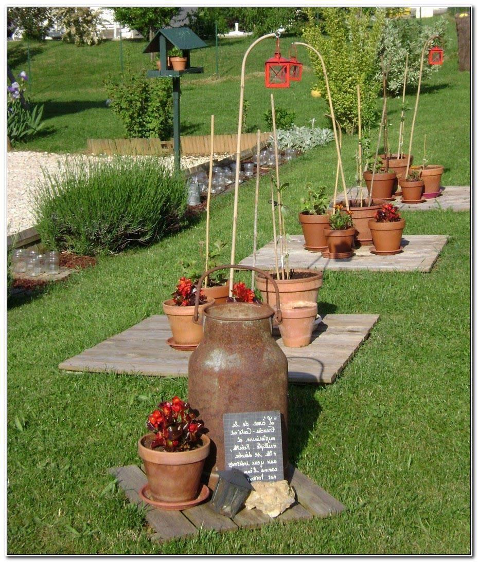 Amenager Son Jardin Avec De La Recup