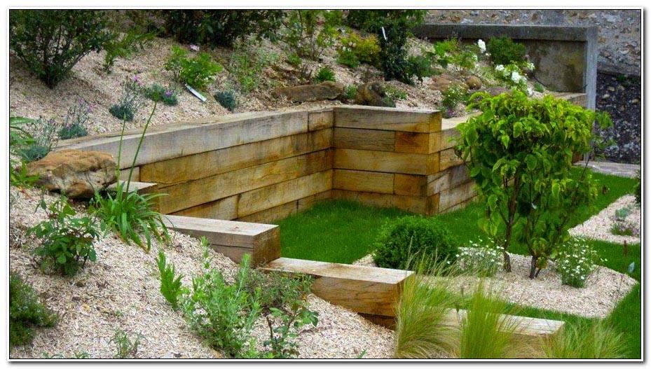 Amenager Son Jardin Terrain En Pente