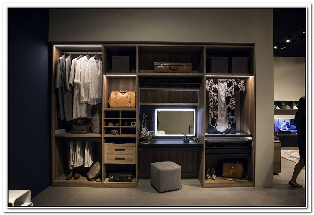 An Organized Wardrobe15 SpaceSavvy And Stylish Closet Ideas
