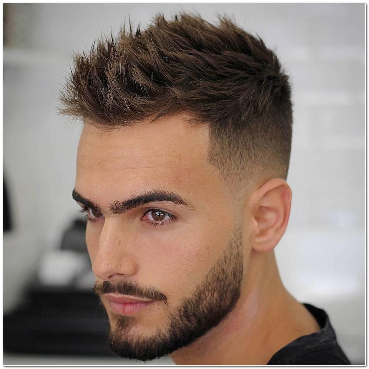 Andere Frisur Mann