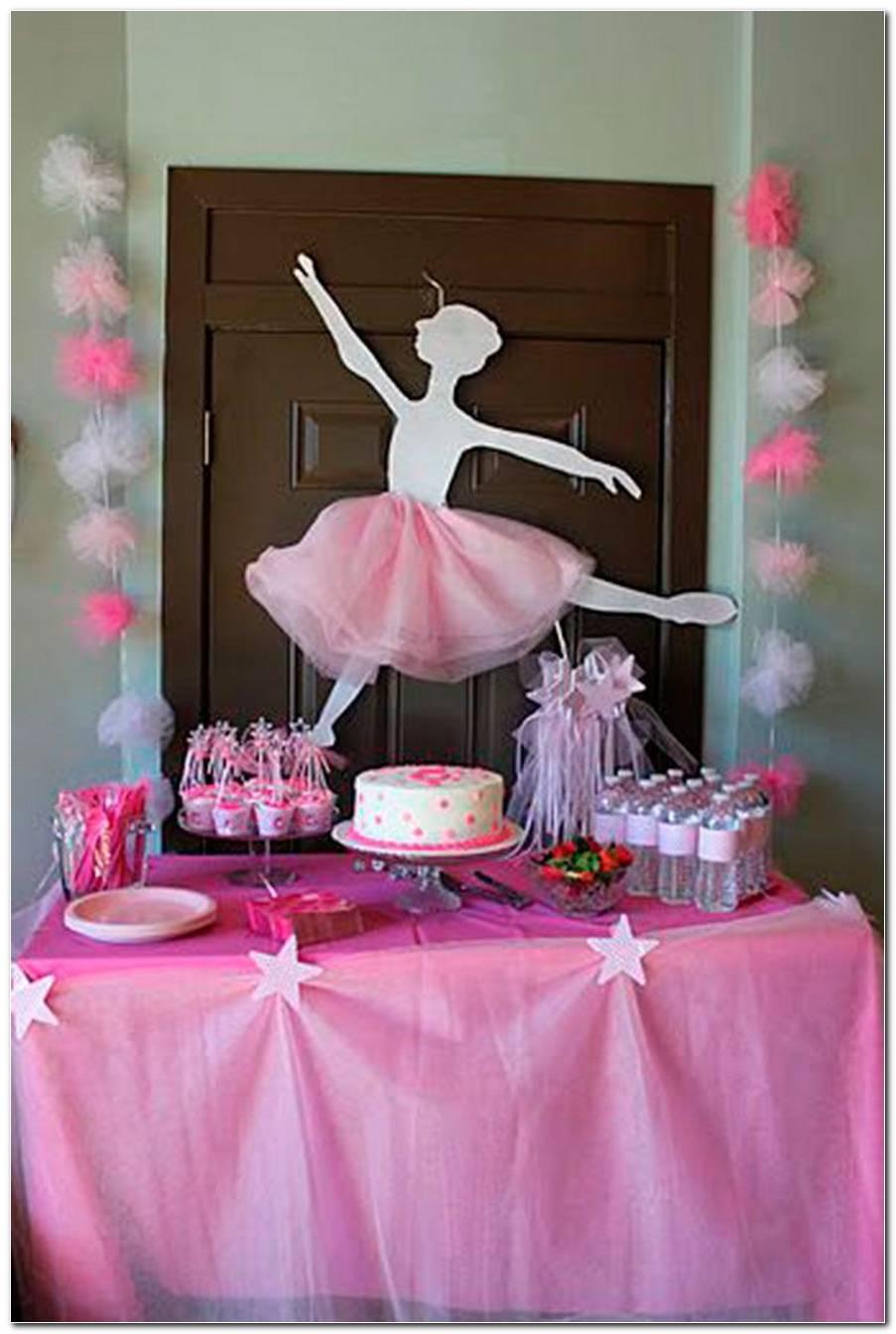 Aniversario Infantil Bailarina