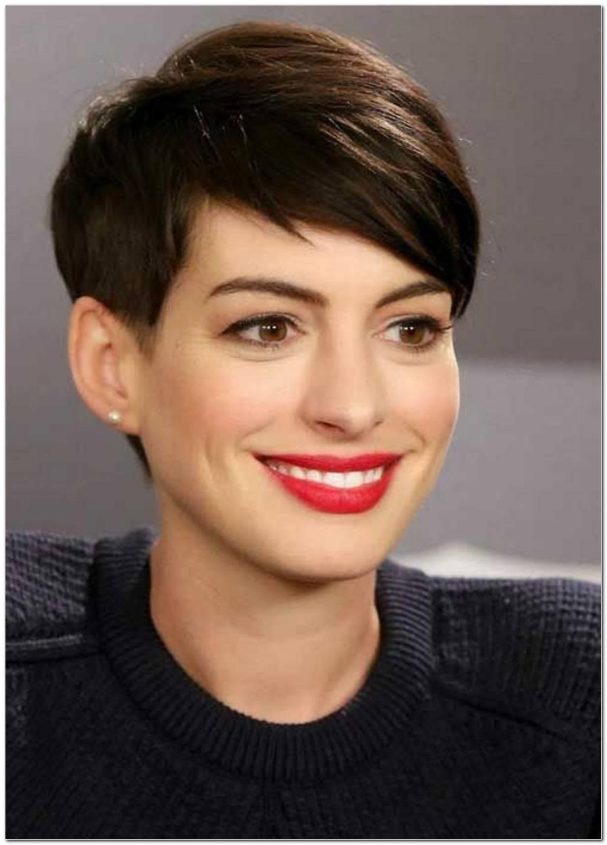 Anne Hathaway Frisur
