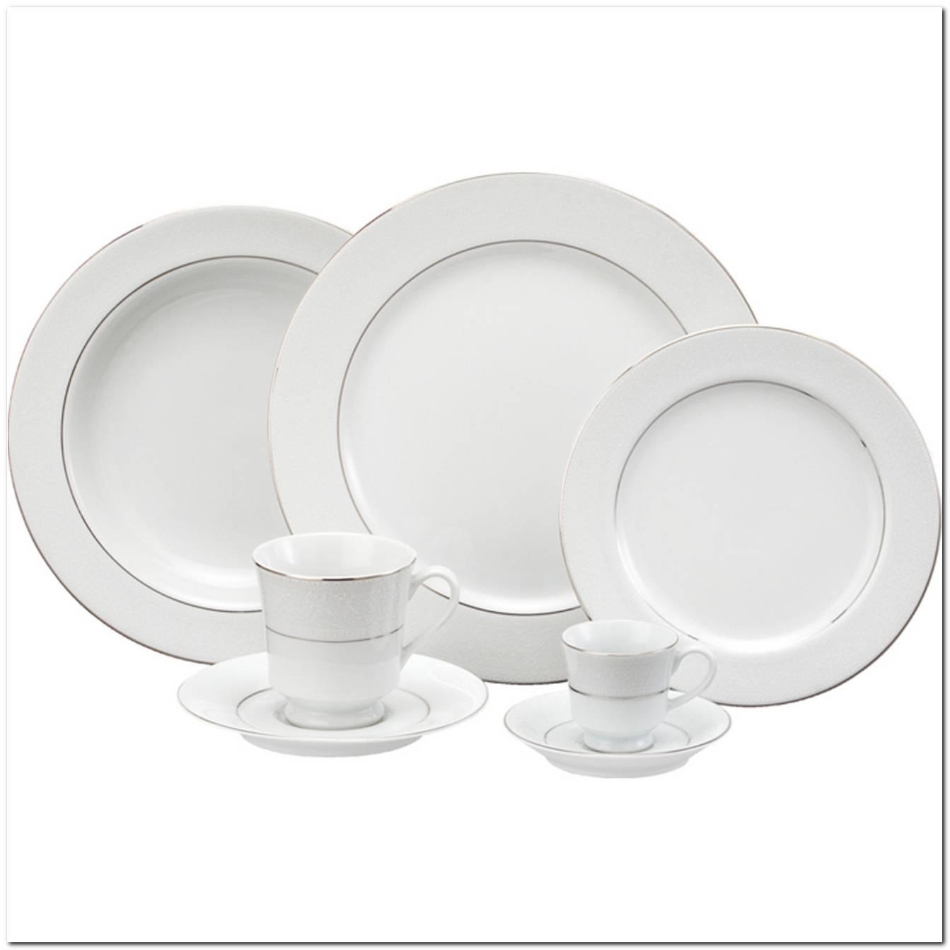 Aparelho De Jantar Porcelana Branco
