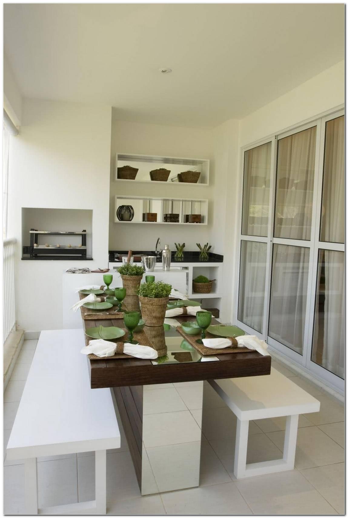 Apartamentos Com Varandas Gourmet