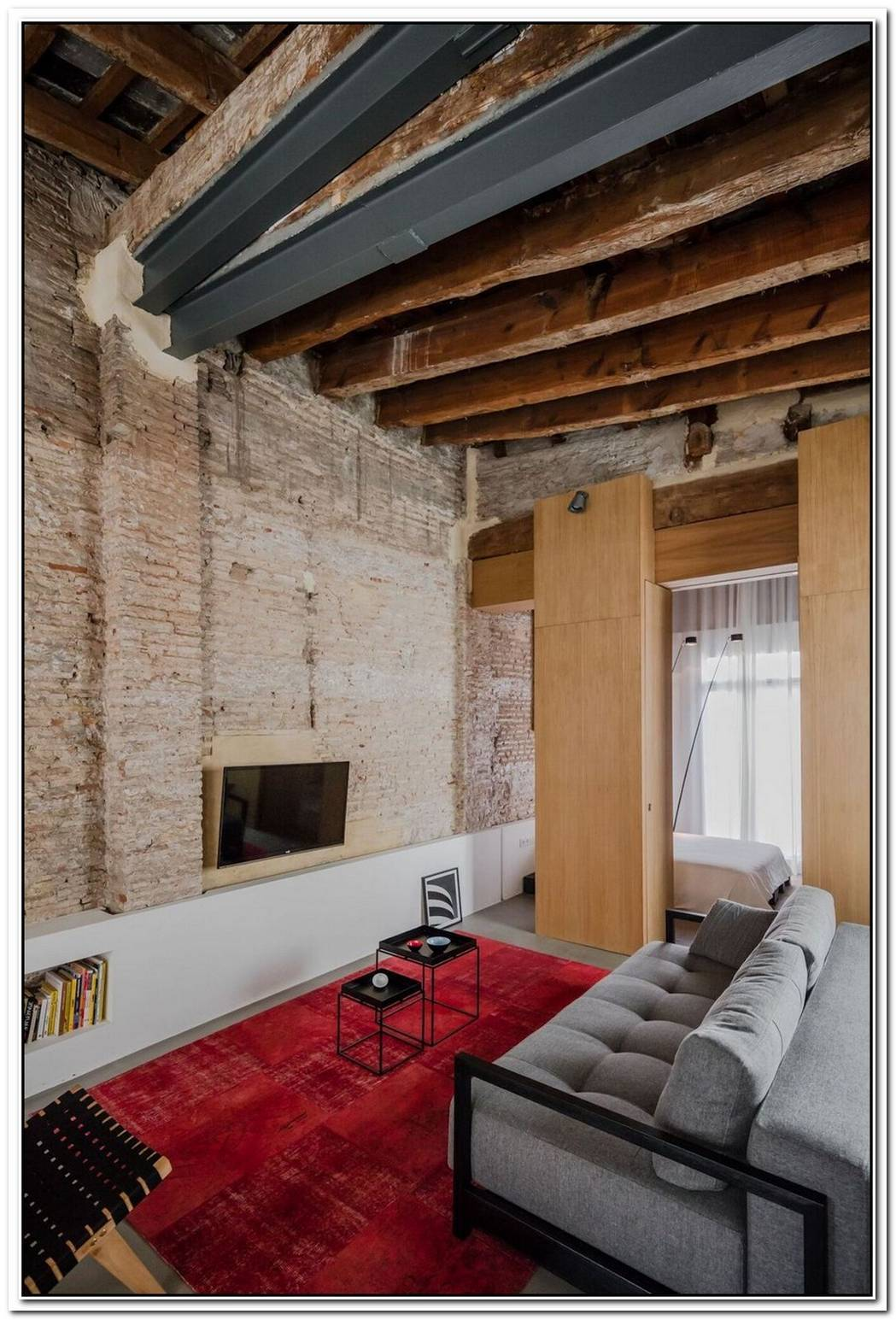 Apartment Renovation Exposes A Rich History Captured In Layers Of Transformation