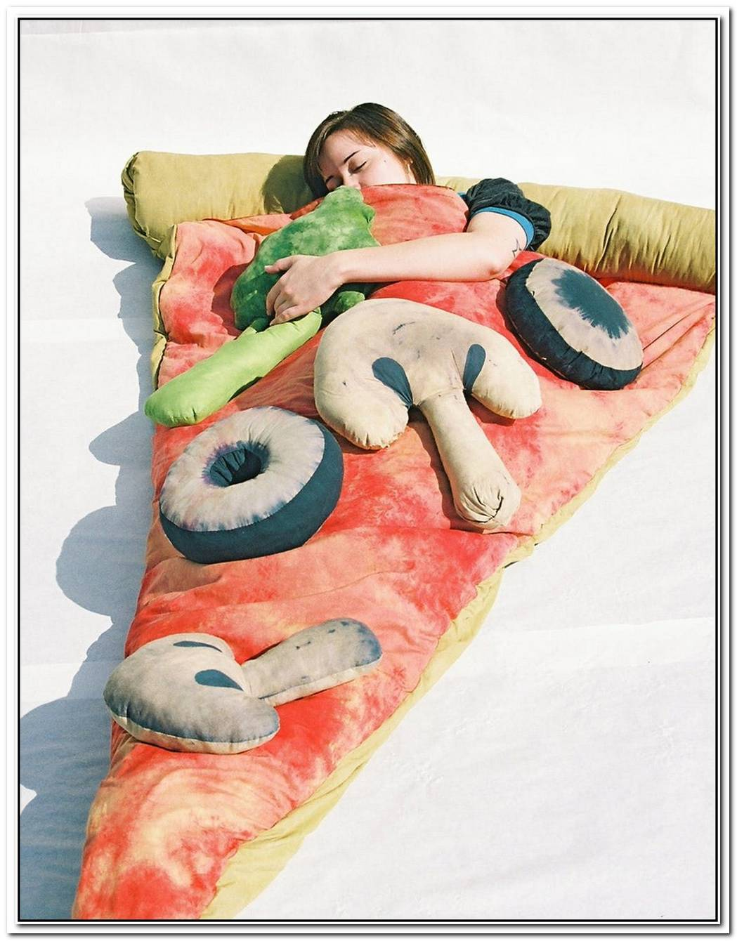 Appetizing Pizza Sleeping Bag