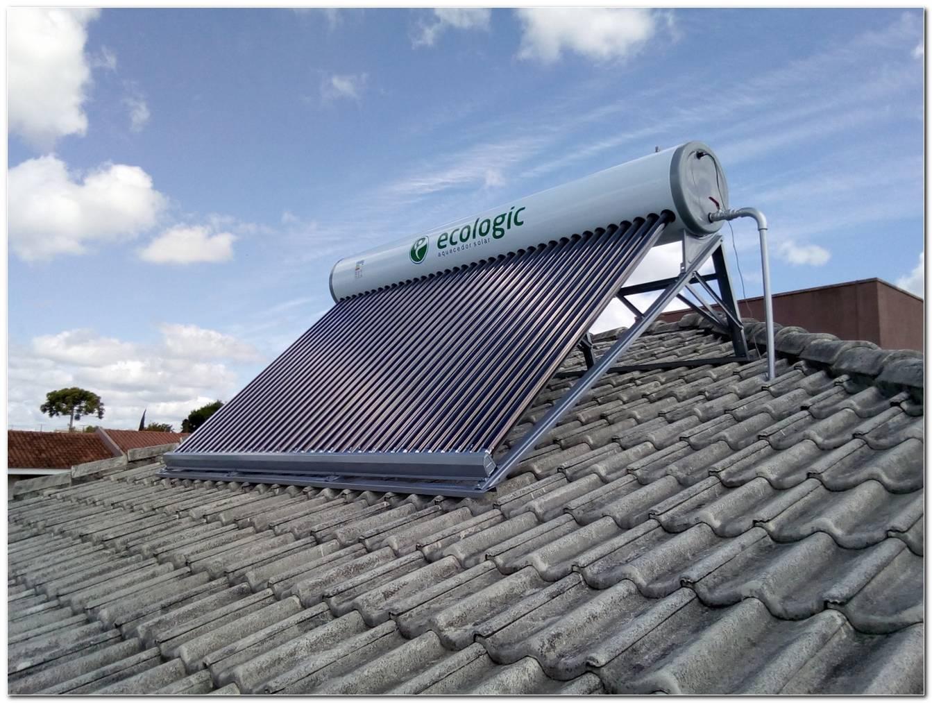 Aquecedor Solar De Agua