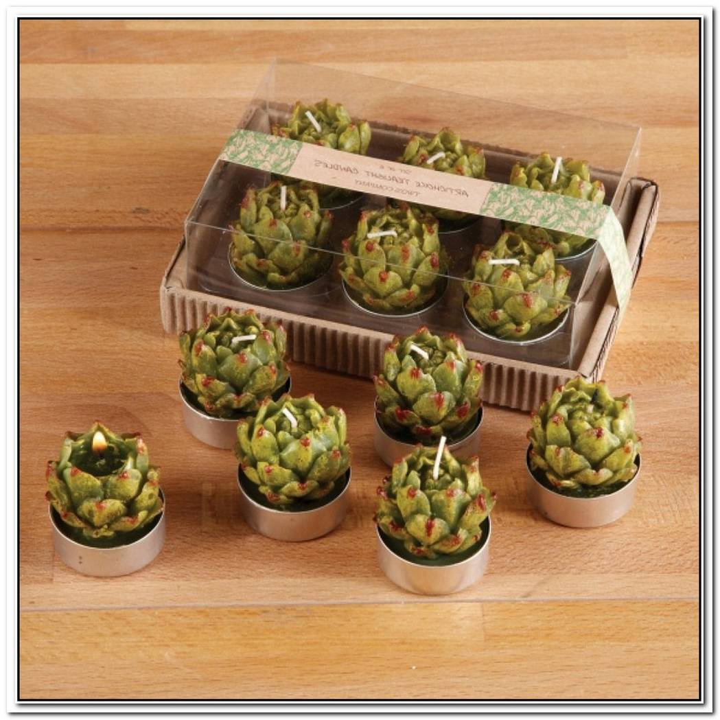 Artichoke Tealight Candles