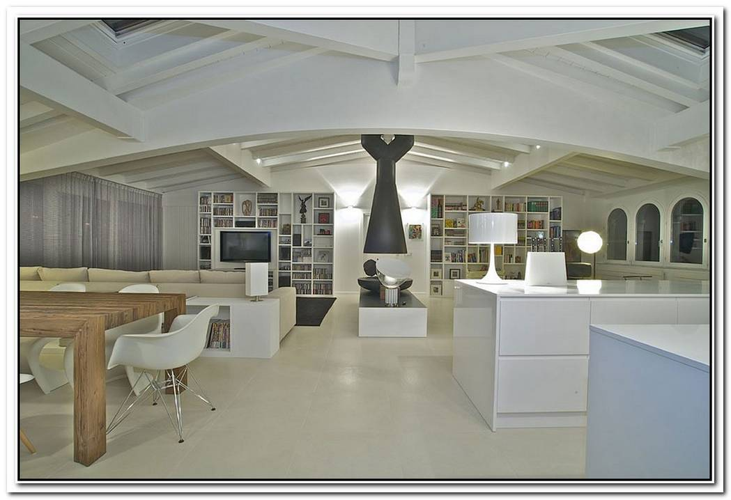 Attic Penthouse Interior We Love Designed By Fabio Gianoli