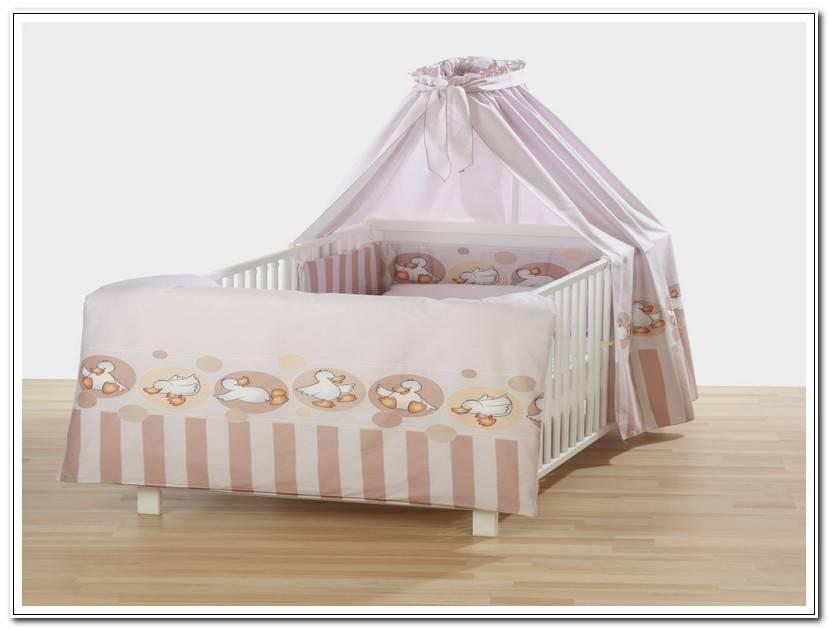 Awesome Baby Bettwäsche Set Mit Himmel Und Nestchen