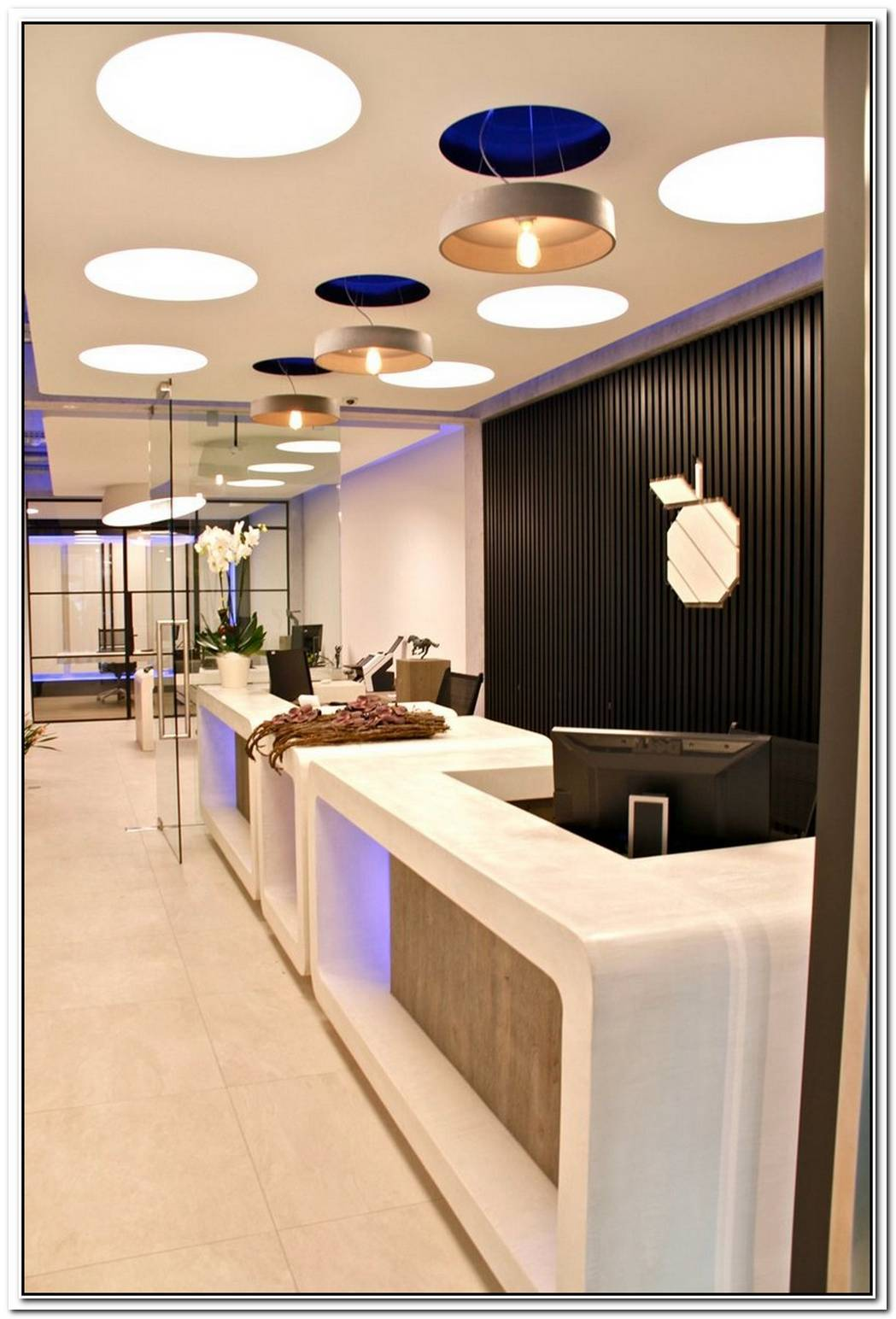 Bank Office Interior Design In Belgium