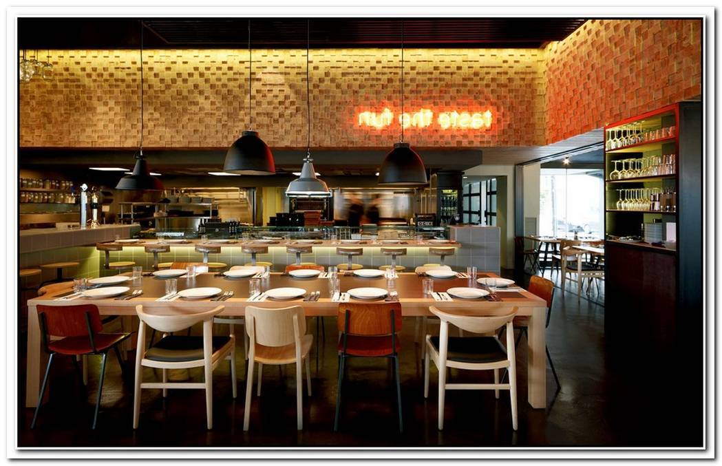 Barque Interior Design Restaurant In Athens