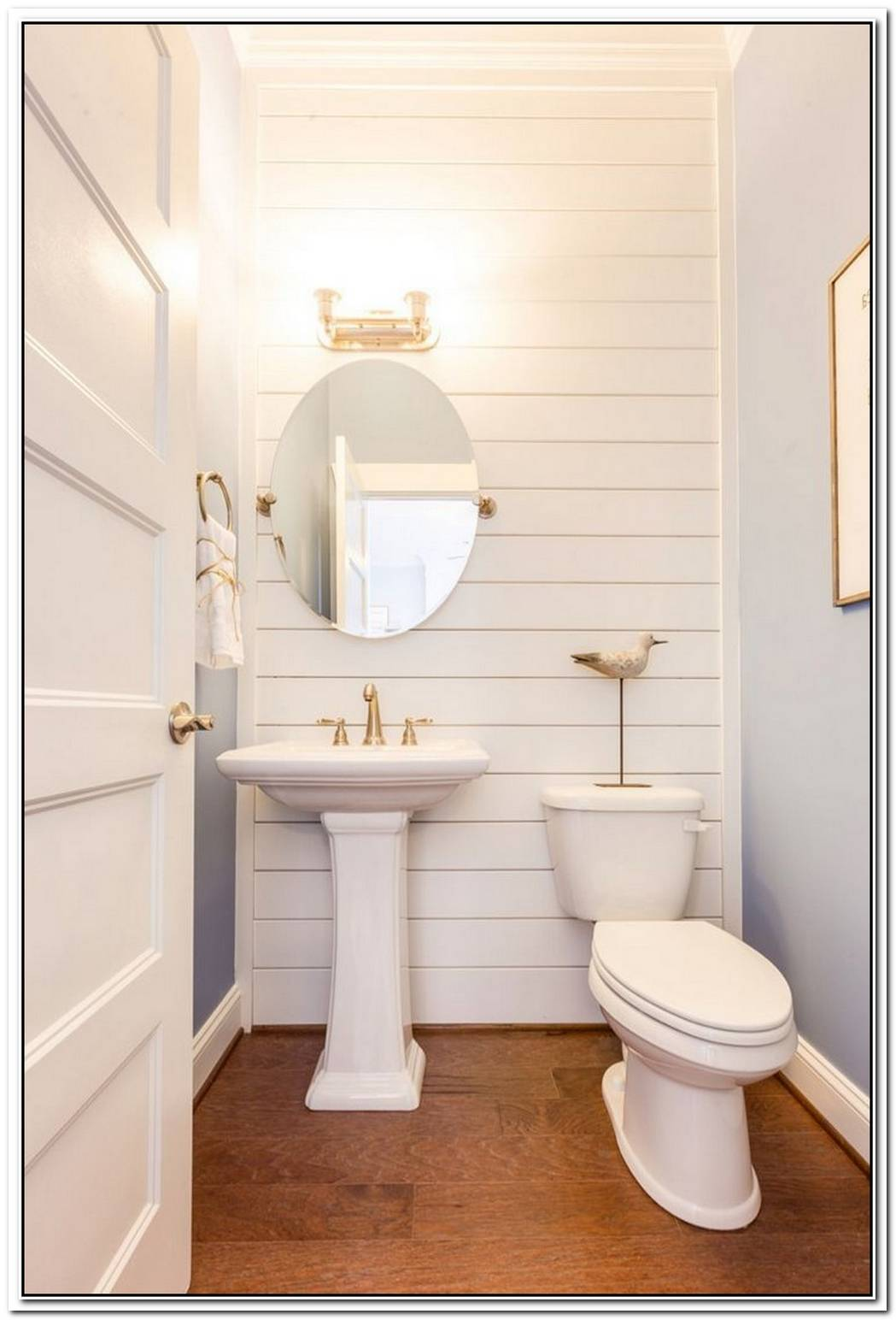 Bathroom Coastal Powder Room