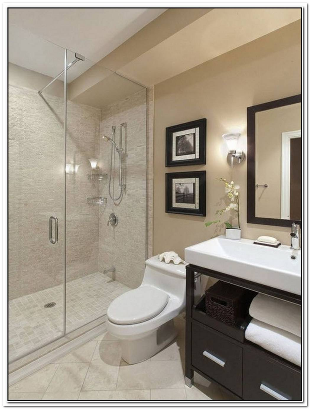 Bathroom Cream Remodeled