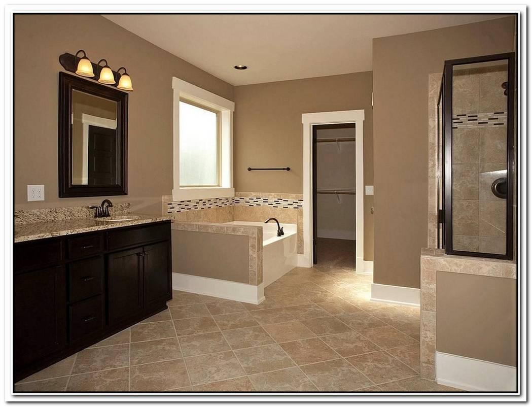 Bathroom Dark Brown Nice