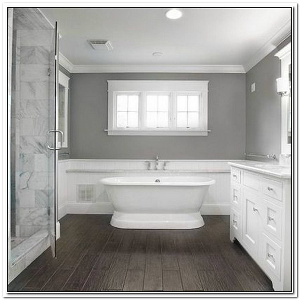 Bathroom Design Traditional Bathroom Wooden Floor