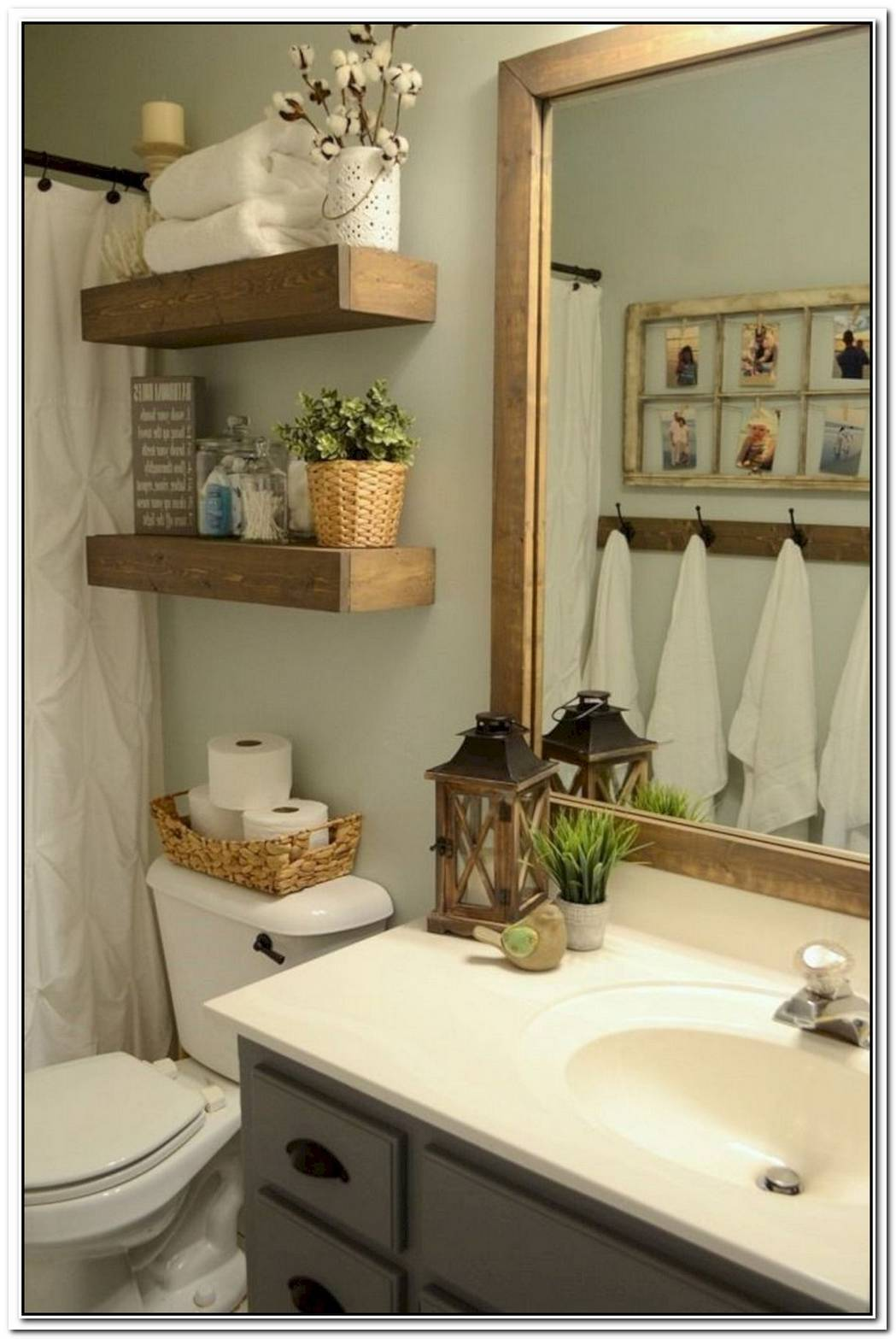 Bathroom Farmhouse Brown