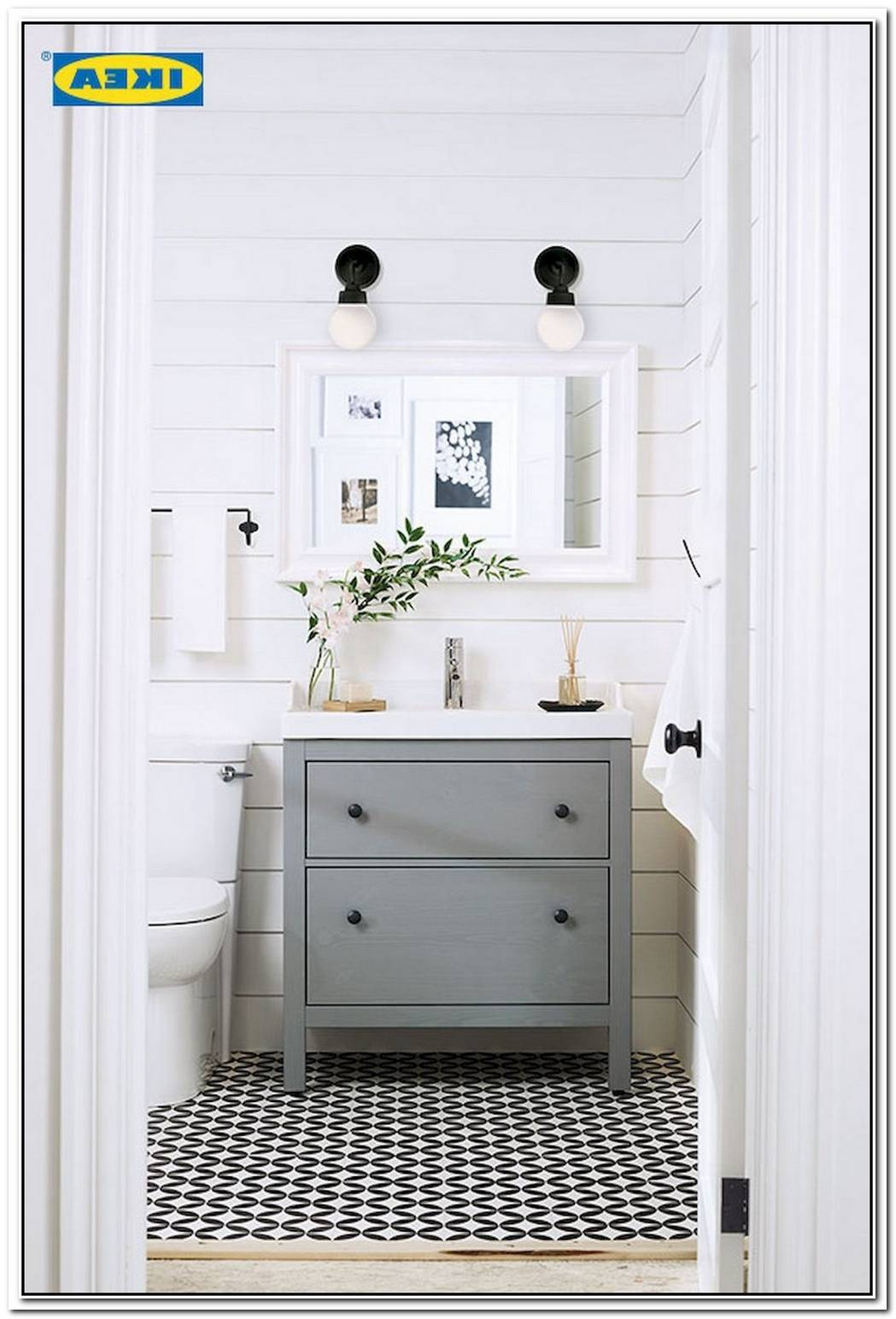 Bathroom Farmhouse Powder Room Ideas
