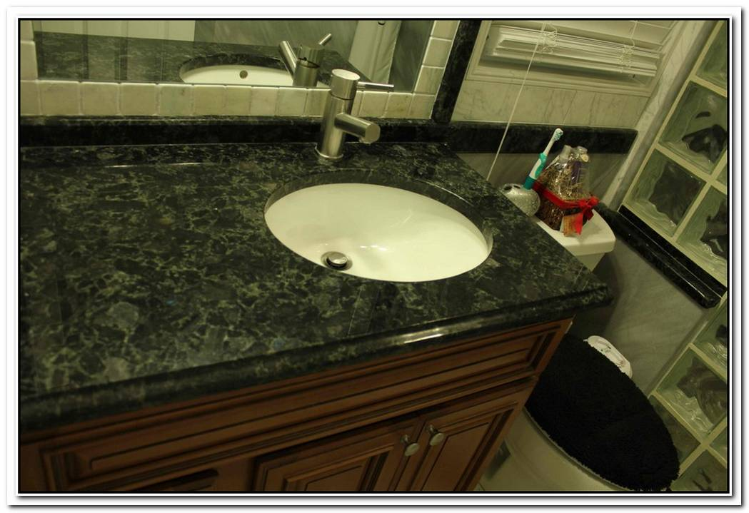 Bathroom Granite Volga Blue