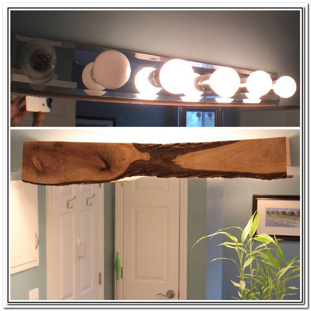 Bathroom Lighting Wood
