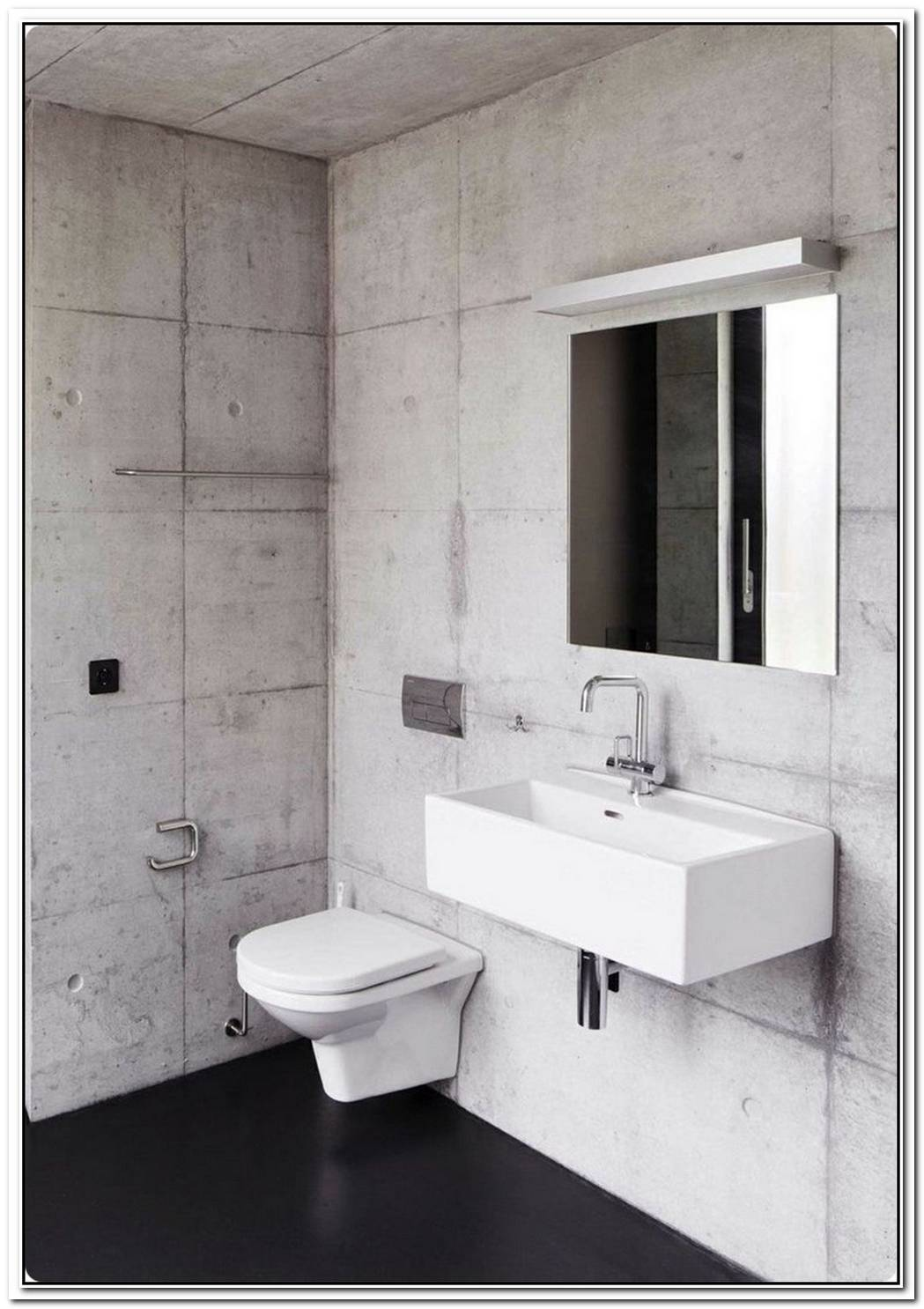 Bathroom Modern Concrete