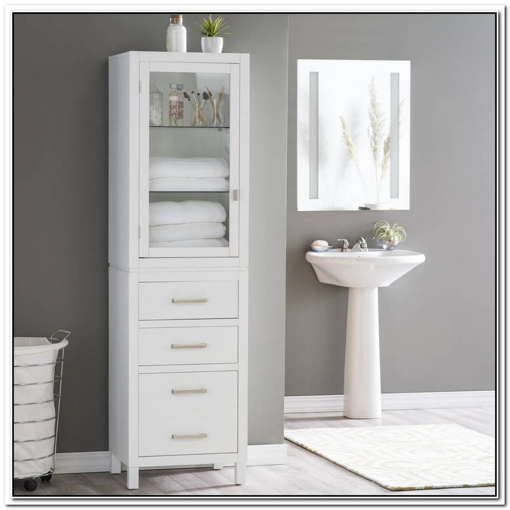 Bathroom Modern Storage Free Standing Towel