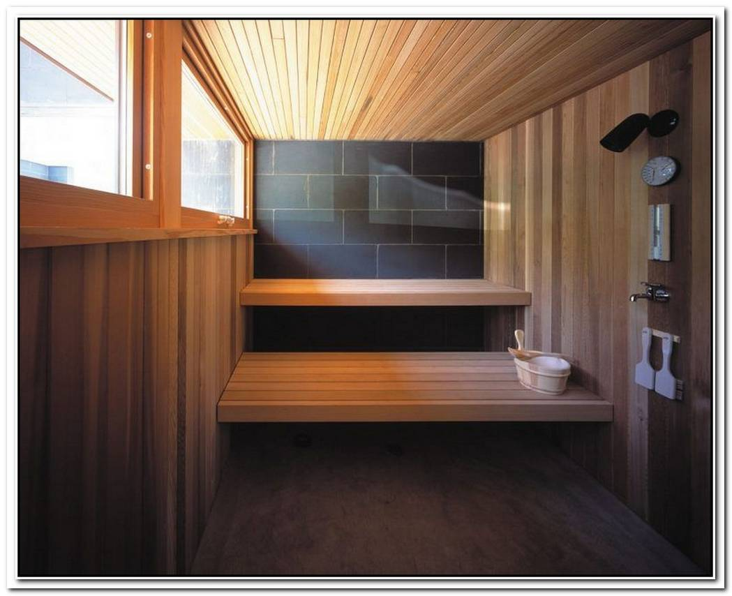 Bathroom Modern Wood Cladded