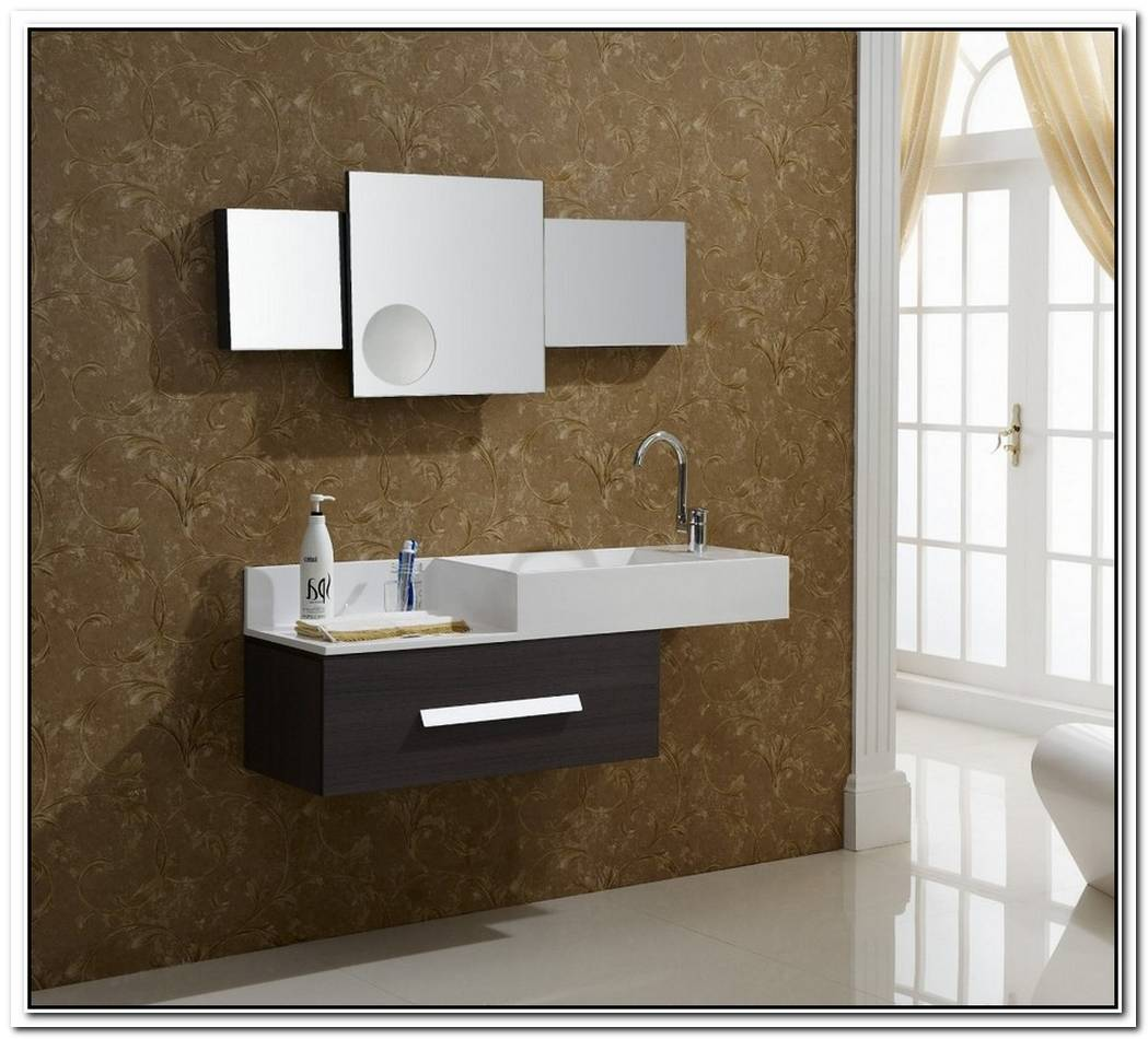 Bathroom Modern Wood Hanging
