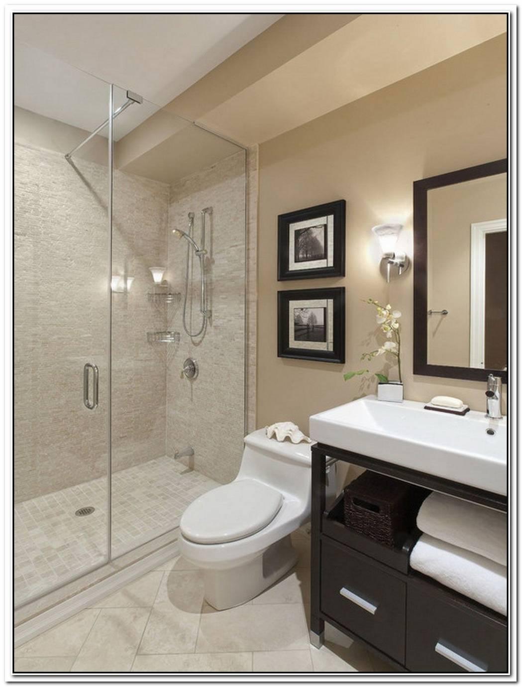 Bathroom Small Modern Glass