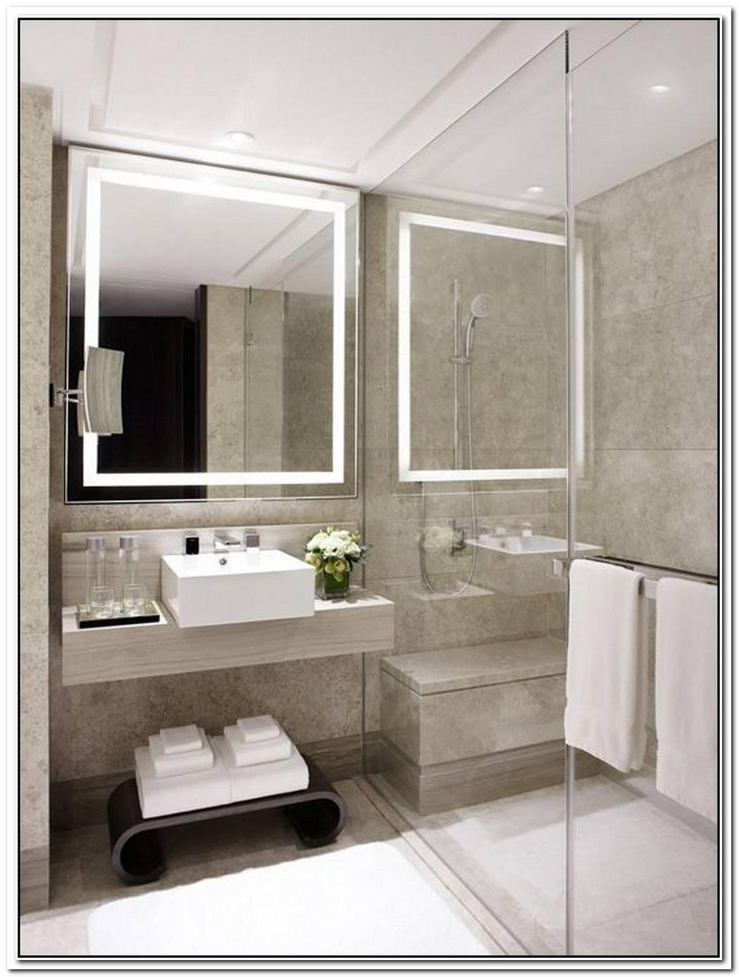 Bathroom Small Modern Hotel