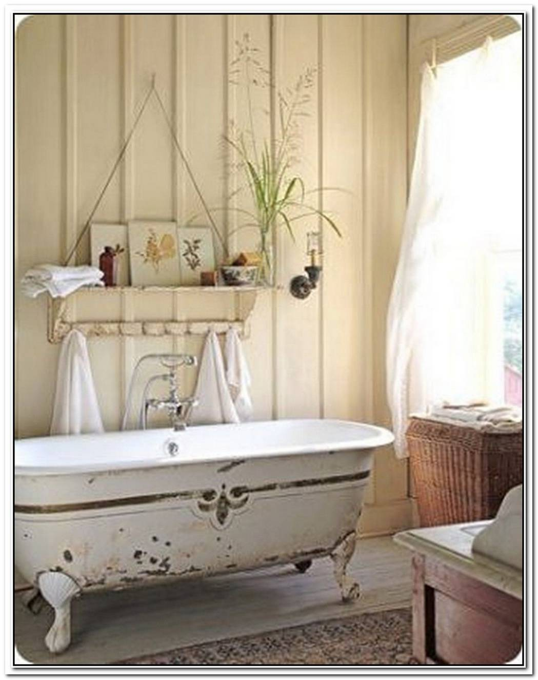 Bathroom Small Shabby Chic Bathroom Decor