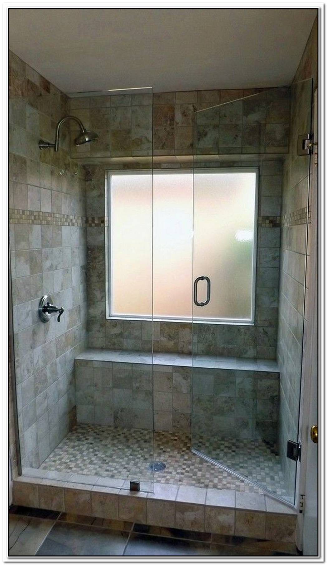 Bathroom Small Window Shower Cubicle