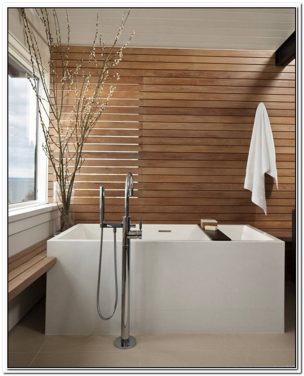 Bathroom Spa Contemporary Bathroom Wood
