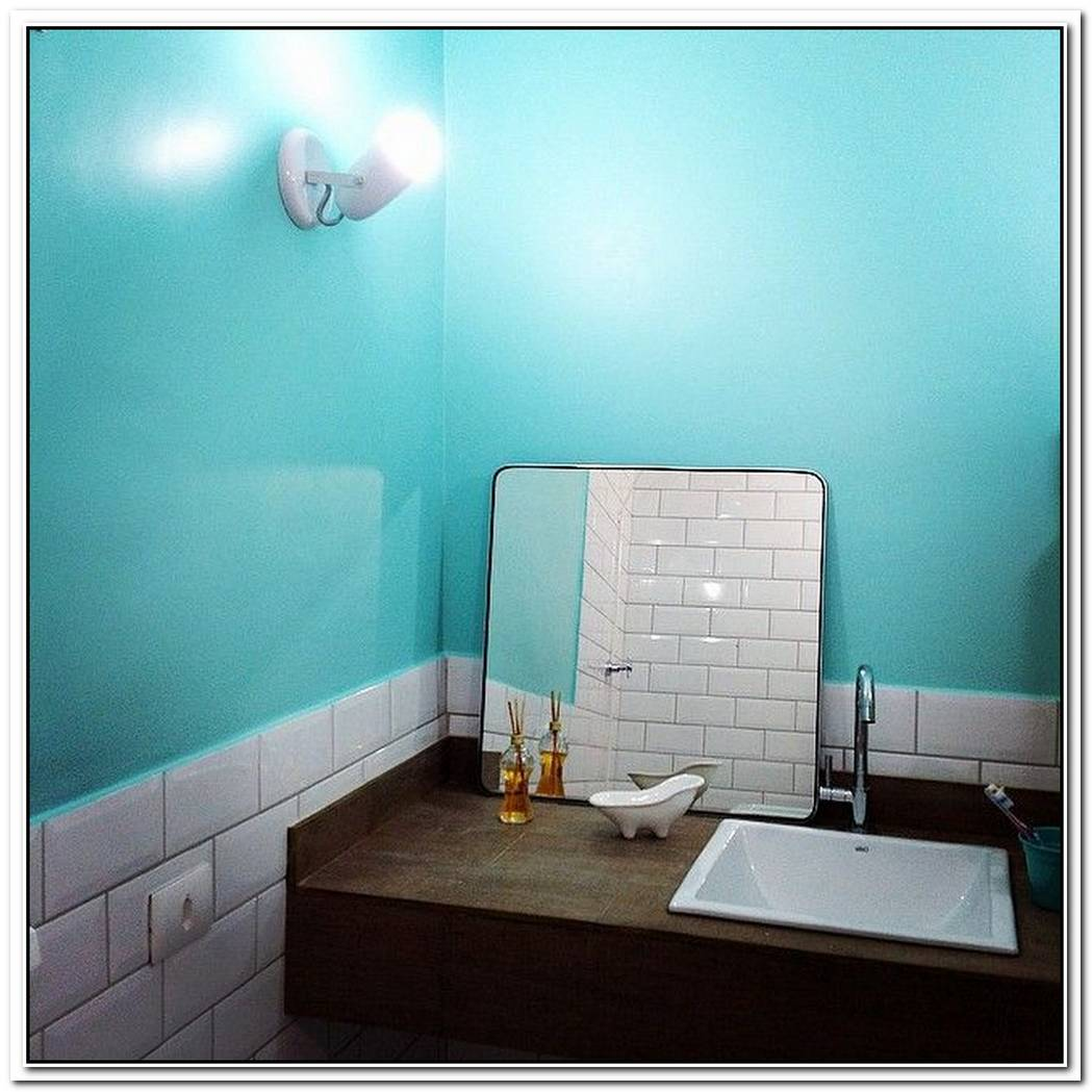 Bathroom Teal Tantalizing Teal