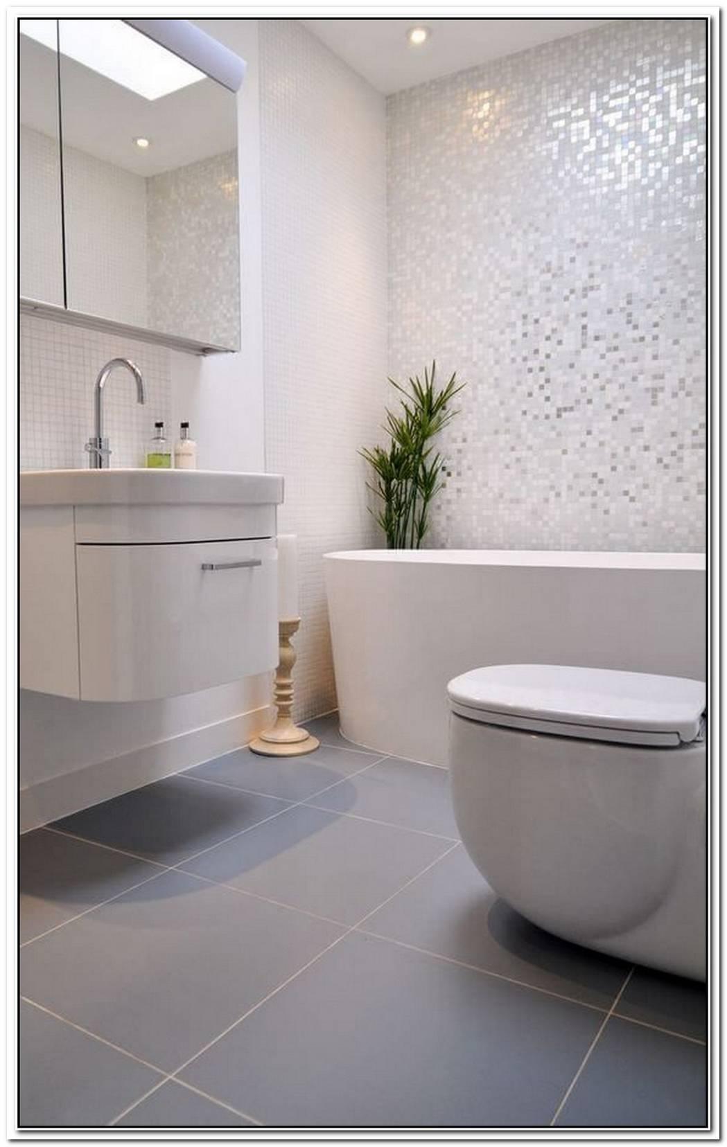 Bathroom Tiled Modernist