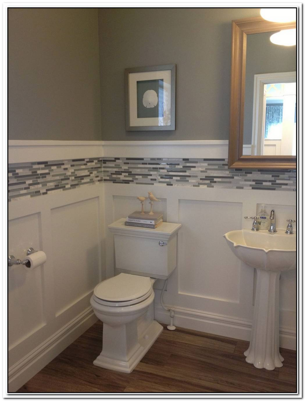 Bathroom Wainscoting Bathroom Wall