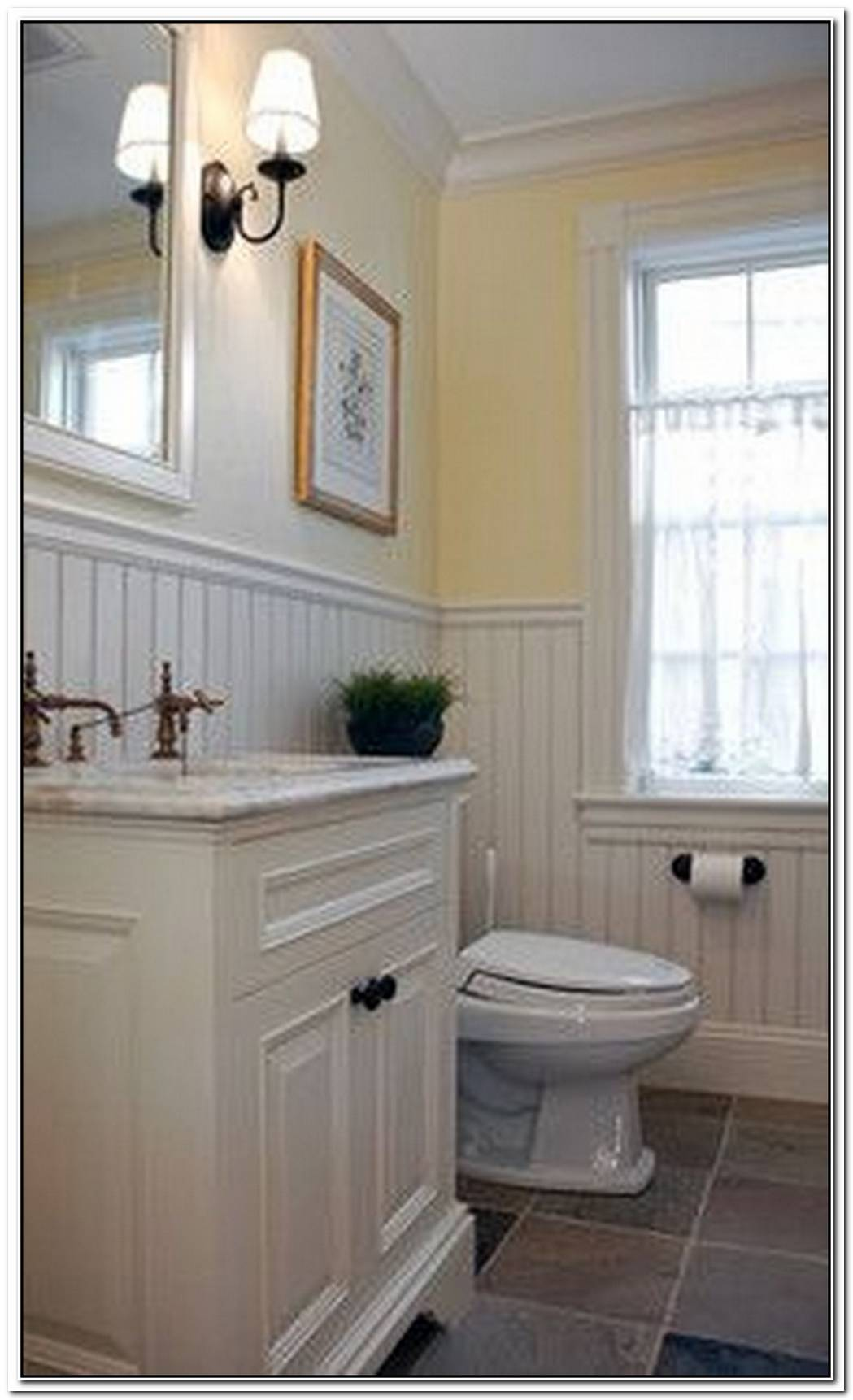 Bathroom Wainscoting Beaded
