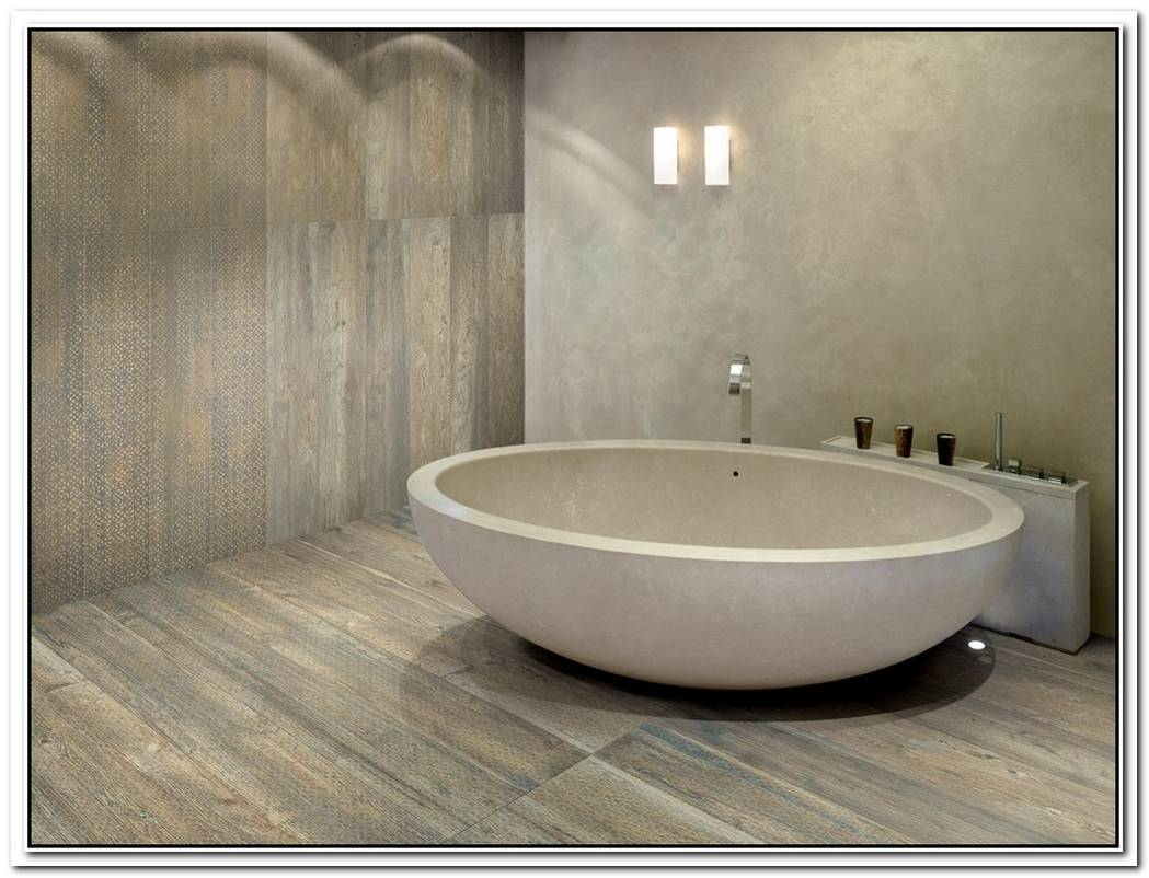 Bathroom Wood Tile Larix