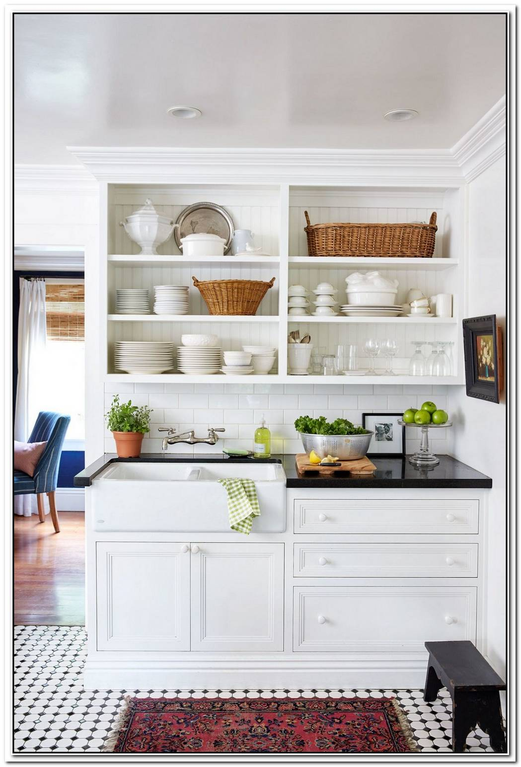 Beautiful And Functional Storage With Kitchen Open Shelving Ideas