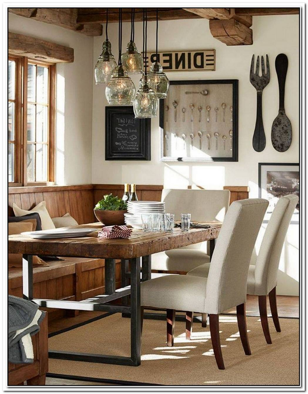 Beautiful Farmhouse Dining Room Transformation