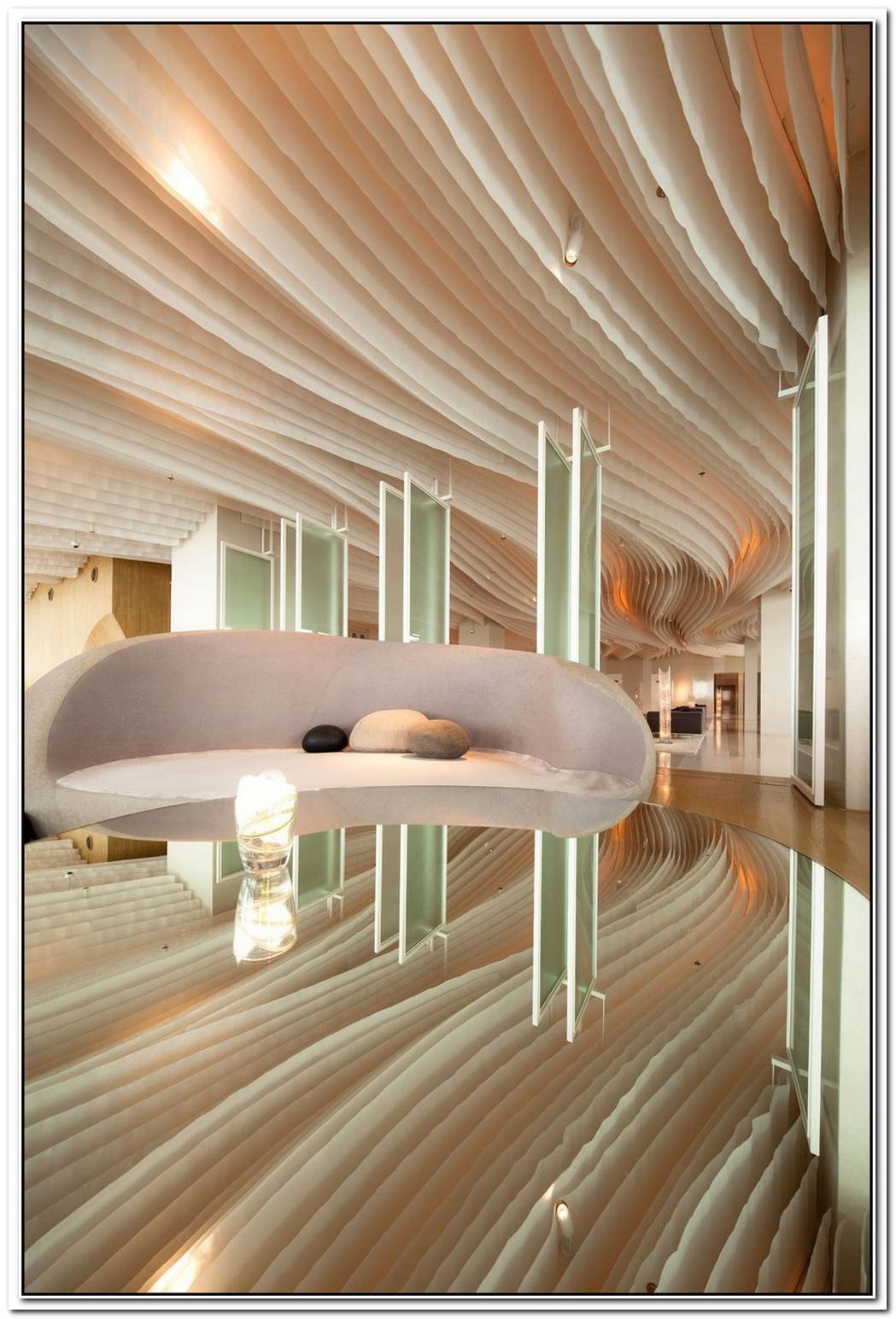 Beautiful Hilton Pattaya Hotel Interiors By Department Of Architecture