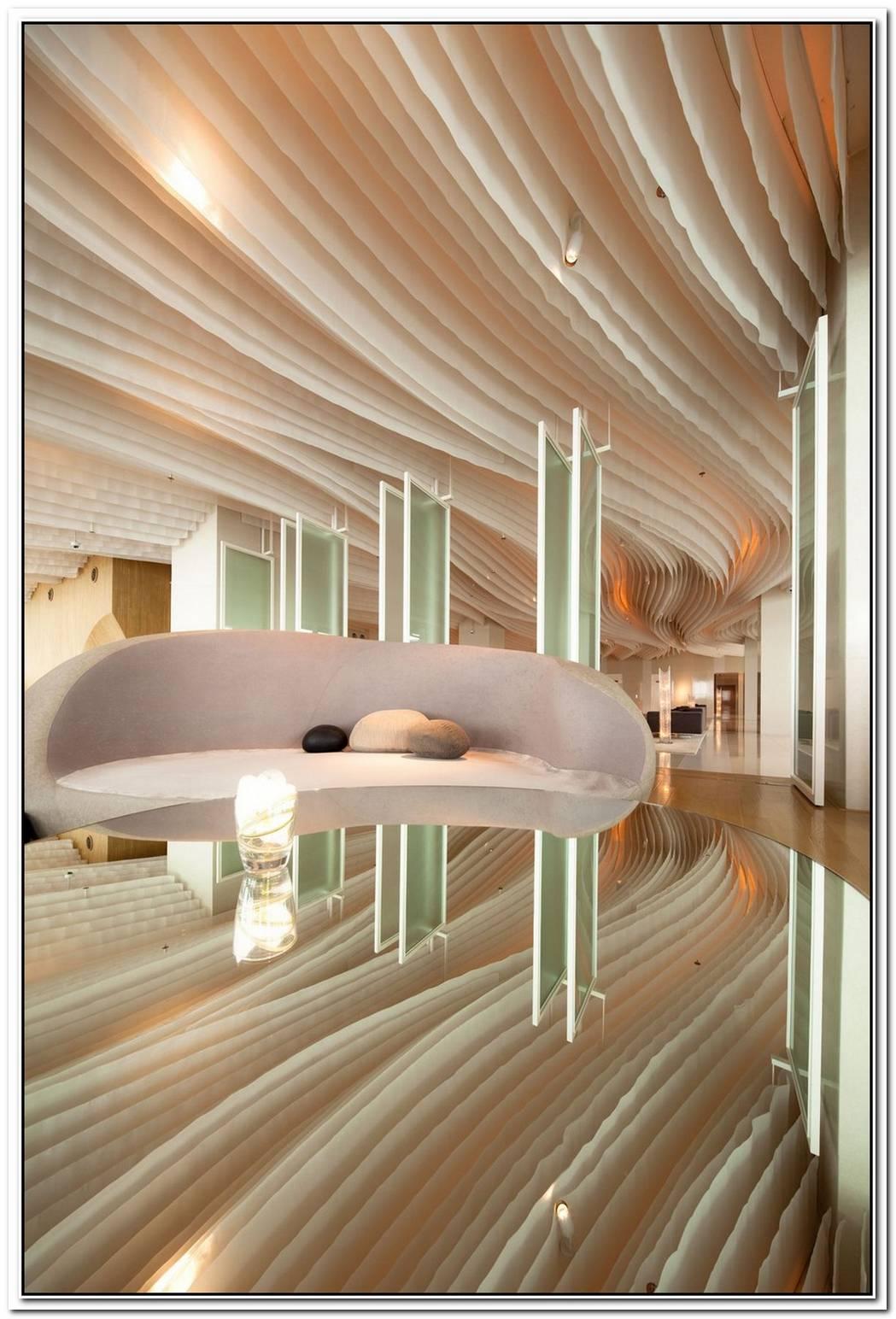 Beautiful Hilton Pattaya Hotel Interiors By Department Of Architecture